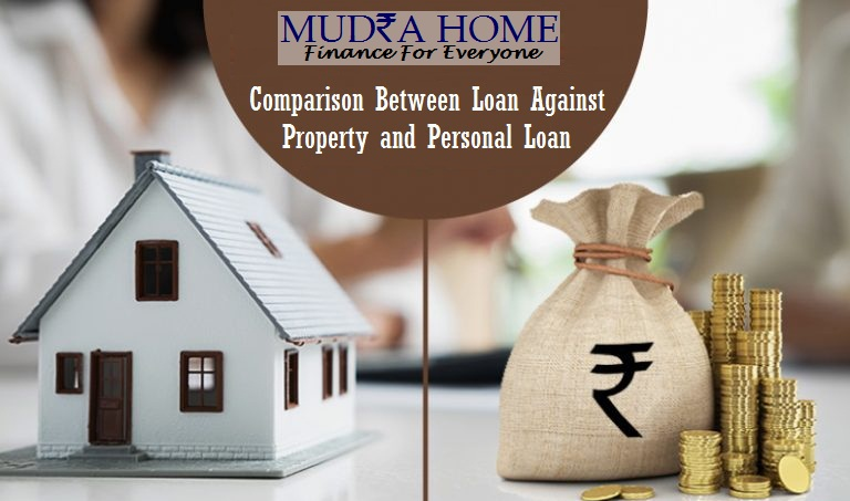 Comparison Between Loan Against Property and Personal Loan