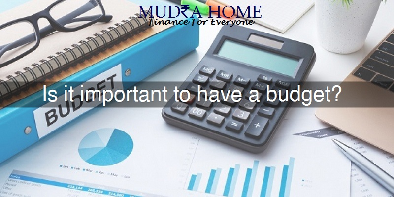 Is it Important to have a Budget
