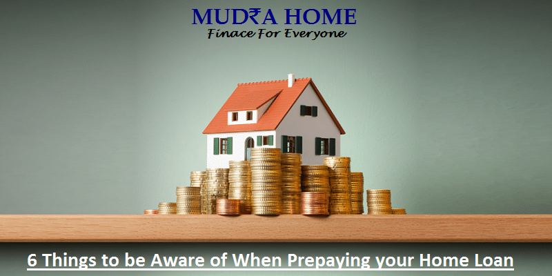 Home Loan - Things to be Aware of When Prepaying
