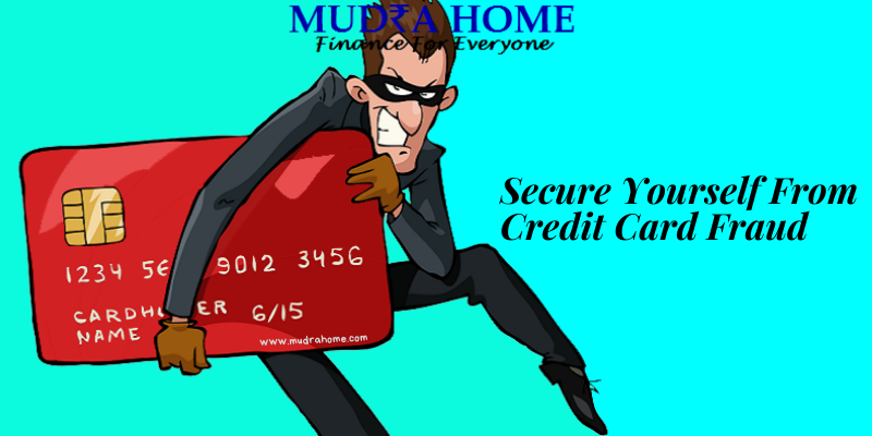 secure yourself from credit card fraud