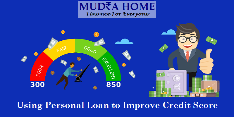 improve credit score using personal loan