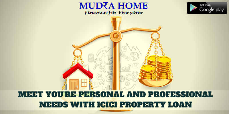 ICICI - Loan against property - (A)