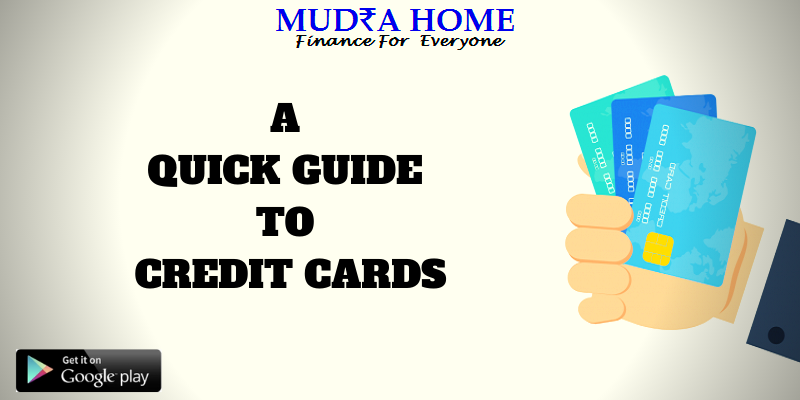 A QUICK GUIDE TO CREDIT CARDS - (A)