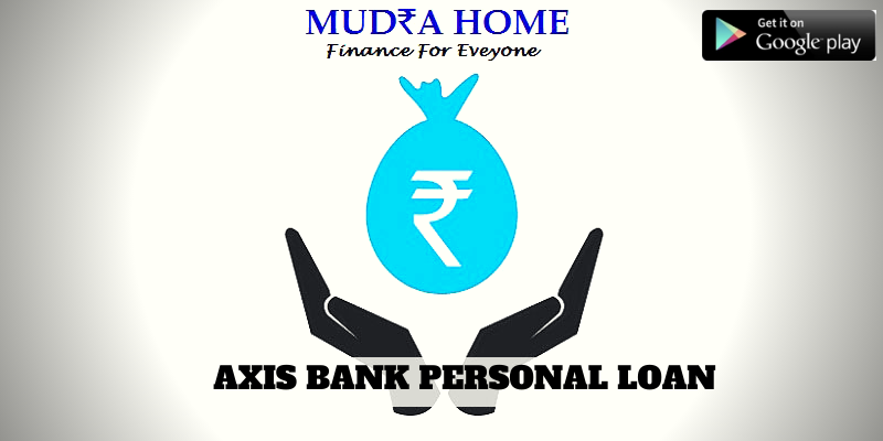 AXIS BANK PERSONAL LOAN - (A)