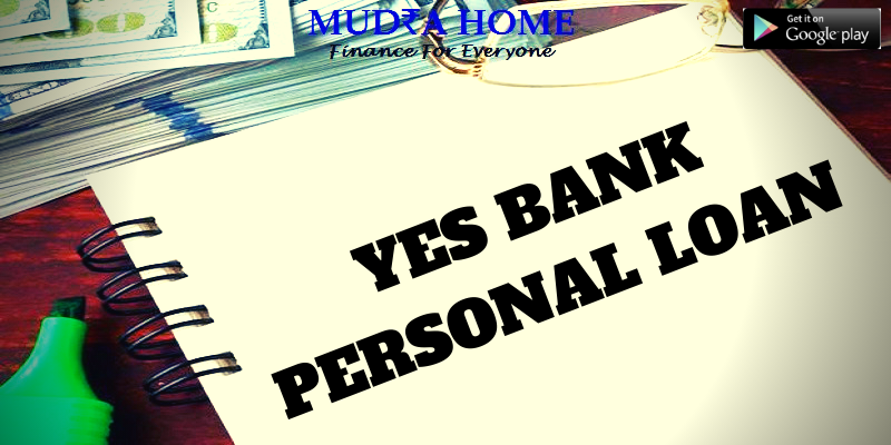 YES BANK PERSONAL LOAN - (A)
