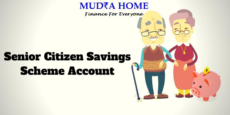 Senior Citizen Savings Scheme Account - (A)