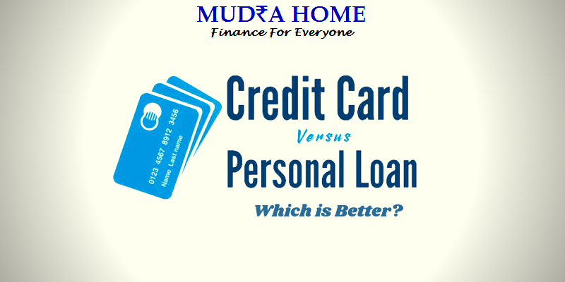 PERSONAL LOAN VERSUS CREDIT CARD WHICH IS BETTER_ - [A]