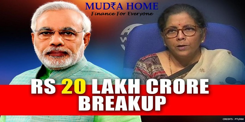 STIMULUS PACKAGE DETAILS OF THE RUPEES 20 CRORE PACKAGE ANNOUNCED BY UNION FINANCE MINISTER NIRMALA SITHARAMAN IN FIVE TRANCHES