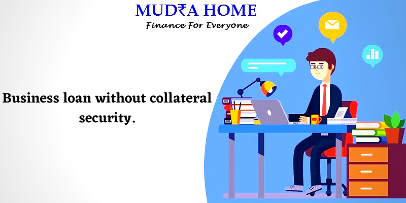 Business loan without collateral security-[A]