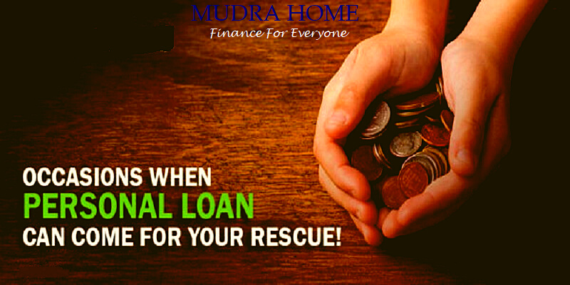 Occasions when personal loan can come for your rescue