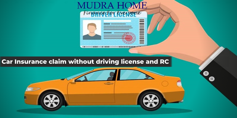 Car Insurance claim without driving license and RC