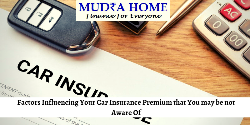 Factors Influencing Your Car Insurance Premium that You may be not Aware Of