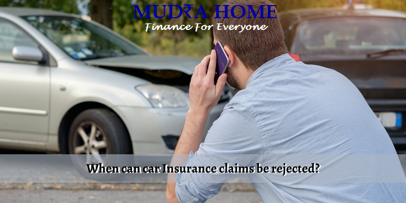 When can car Insurance claims be rejected_ - (A)