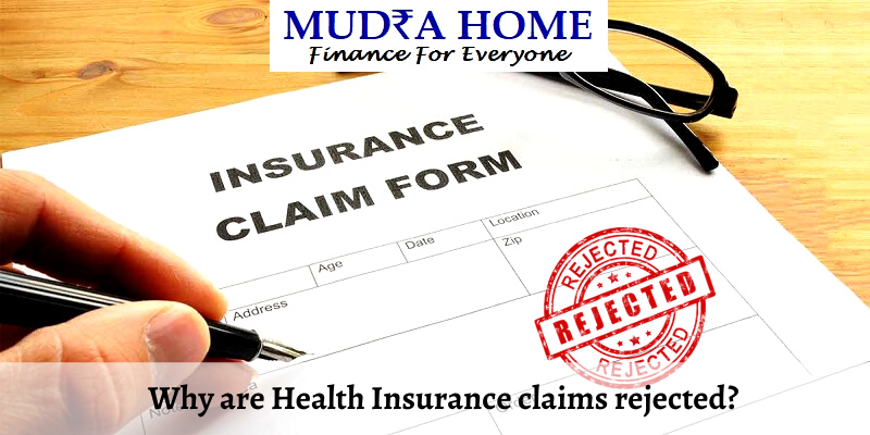 Why are health Insurance claims rejected_ - (A) (1)