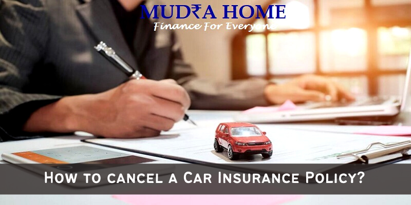 How to cancel a Car Insurance Policy - (A)