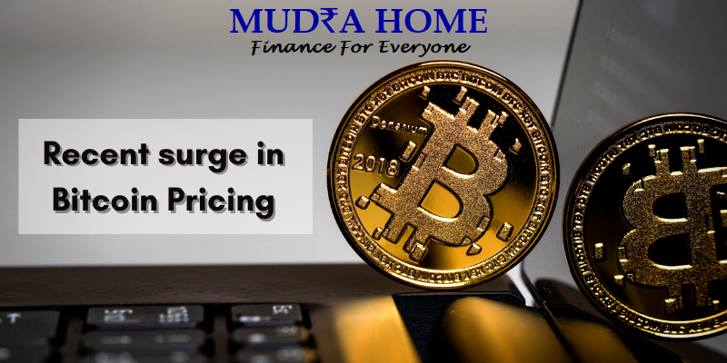 Recent surge in Bitcoin Pricing 2