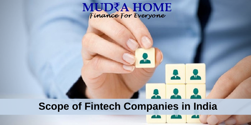 Scope of Fintech Companies in India-(A)