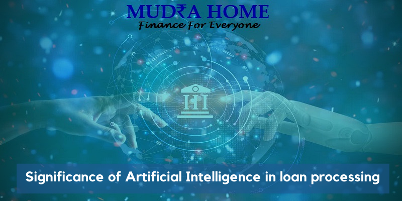 Significance of Artificial Intelligence in loan processing - (A)