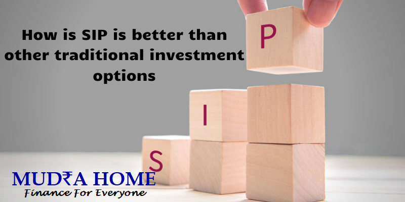 How is SIP is better than other traditional investment options-(A)